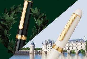 インク鮮度を保ち続ける万年筆「#3776センチュリー」に 待望の新色2色を発売。