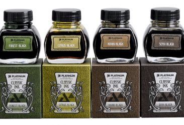 色の変化を楽しむ万年筆用インク完成。 伝統の製法で作る「CLASSIC INK」6色を新発売。