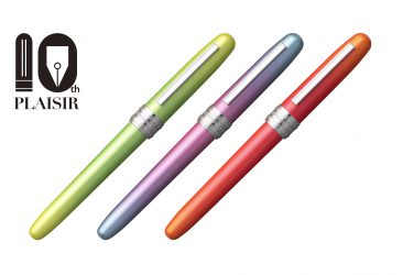PLAISIR 10th anniversary Limited colors